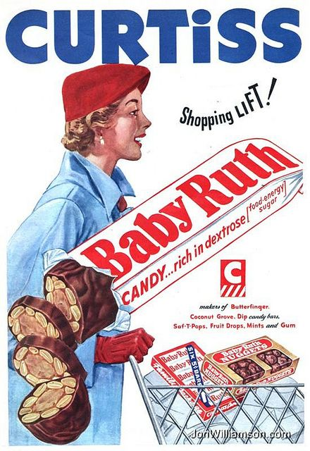 Baby Ruth - 1952 (With images) | Vintage ads, Vintage ...