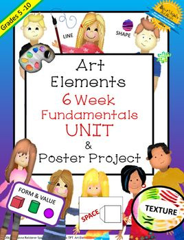 Teaching art students about The Elements of Art is a necessity for every art…