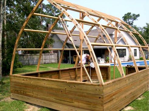 12 X 16 Gothic Arch Greenhouse