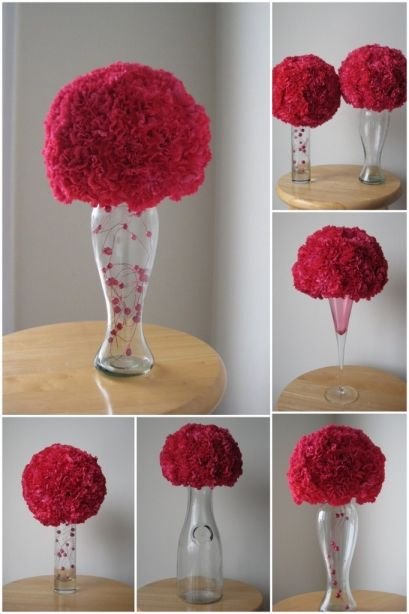 Inexpensive Wedding Centerpieces DIY | ... Pommander DIY Wedding ...