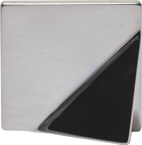 Item #: 111.36.251  Item #: 111.36.245 Handle, Bella Italiana, zinc, polished chrome, M4, center to center 32mm