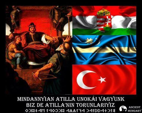 Hajra Turan... Jó estét , Attila unokái...