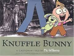 Losing a favourite toy can be very upsetting. See what happens when Trixie loses Knuffle Bunny. Make a photo story with your child http://www.lovemybooks.co.uk/knuffle-bunny
