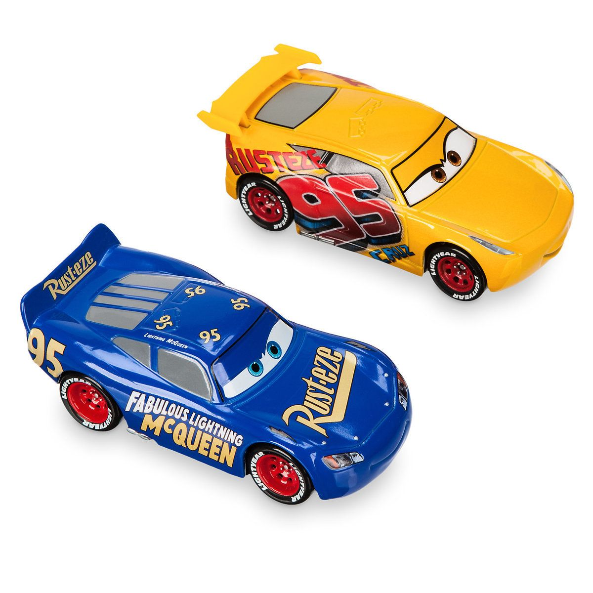 Rust Eze Cruz Ramirez Fabulous Lightning Mcqueen Die Cast Twin