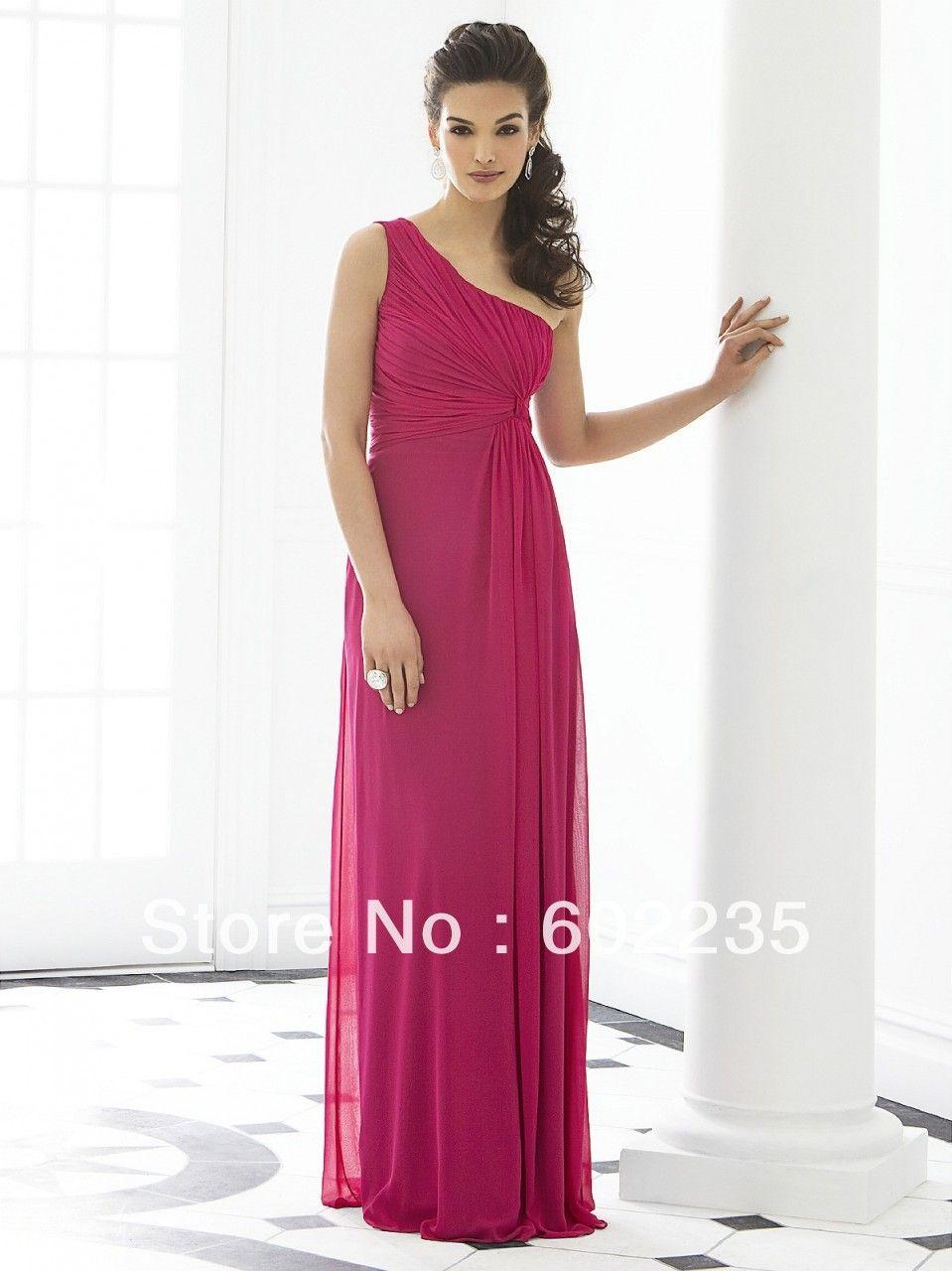 33700fc33c vestidos de fiesta cortos en rosa fiusha 2014 la noche vestidos de bola