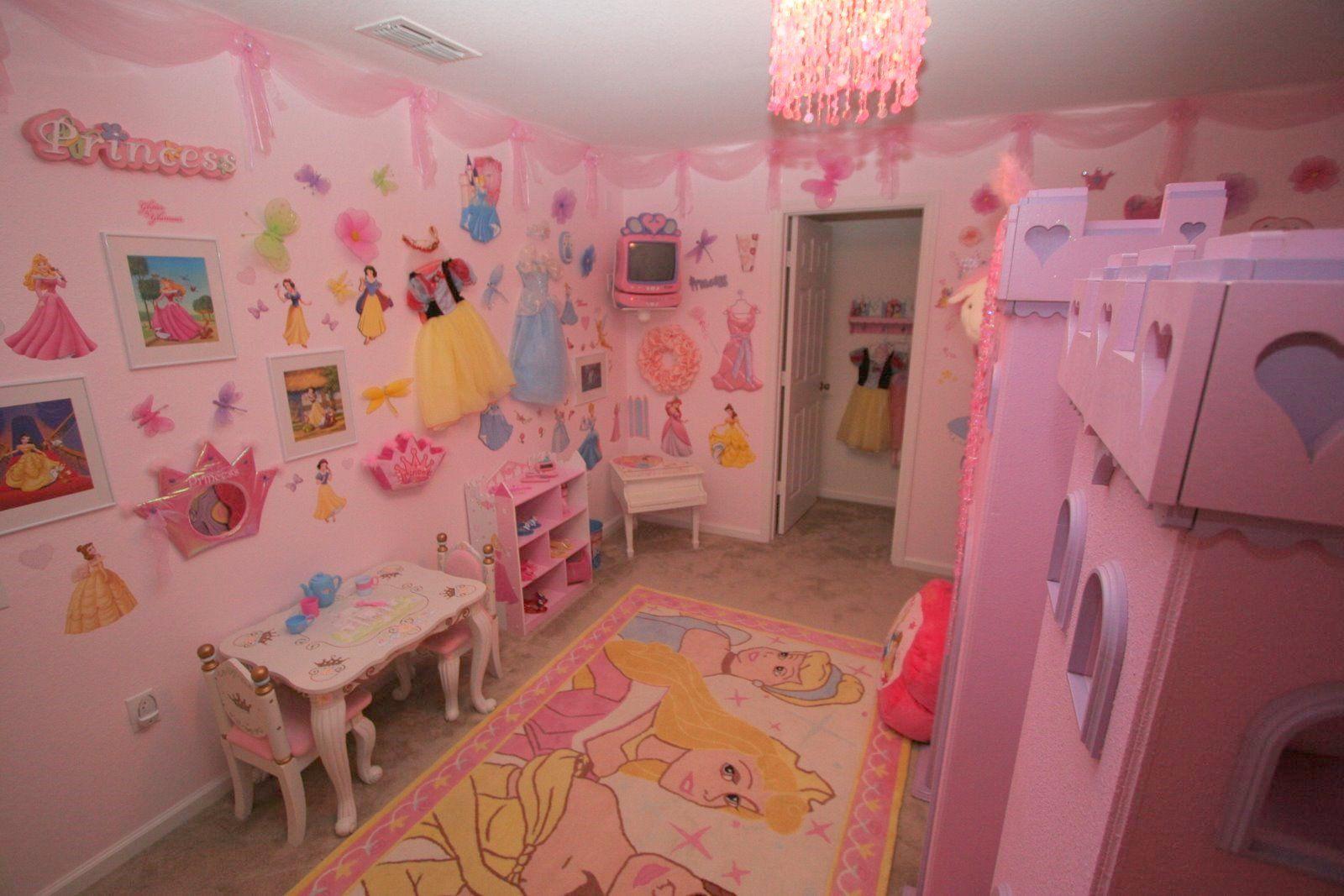 disney princess bedroom