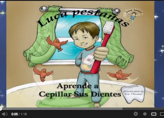 Tips from book 2 in #Spanish!  #Lucalashes   #youtube