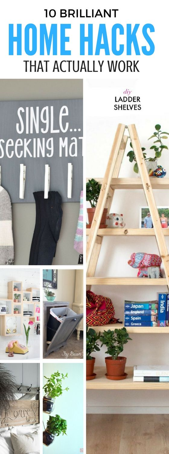 10 Insanely Genius DIY Home Decor Hacks You Have To Try ...