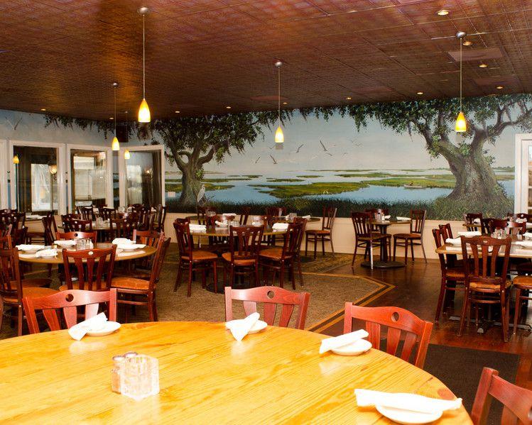 Murrells Inlet Best Seafood Restaurant Gazebo Bar Sc