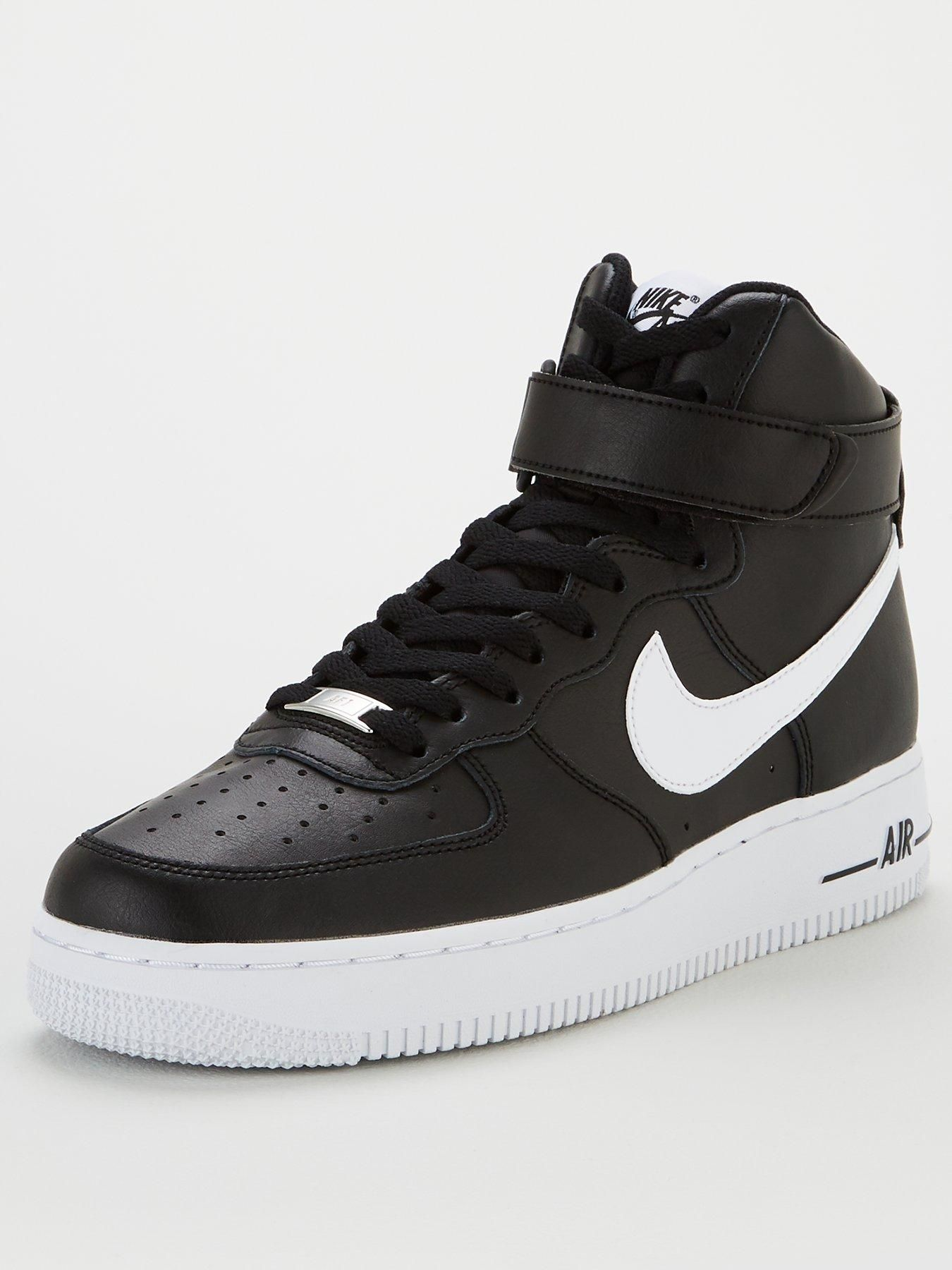Nike Air Force 1 High '07 An20 Black in Black/White