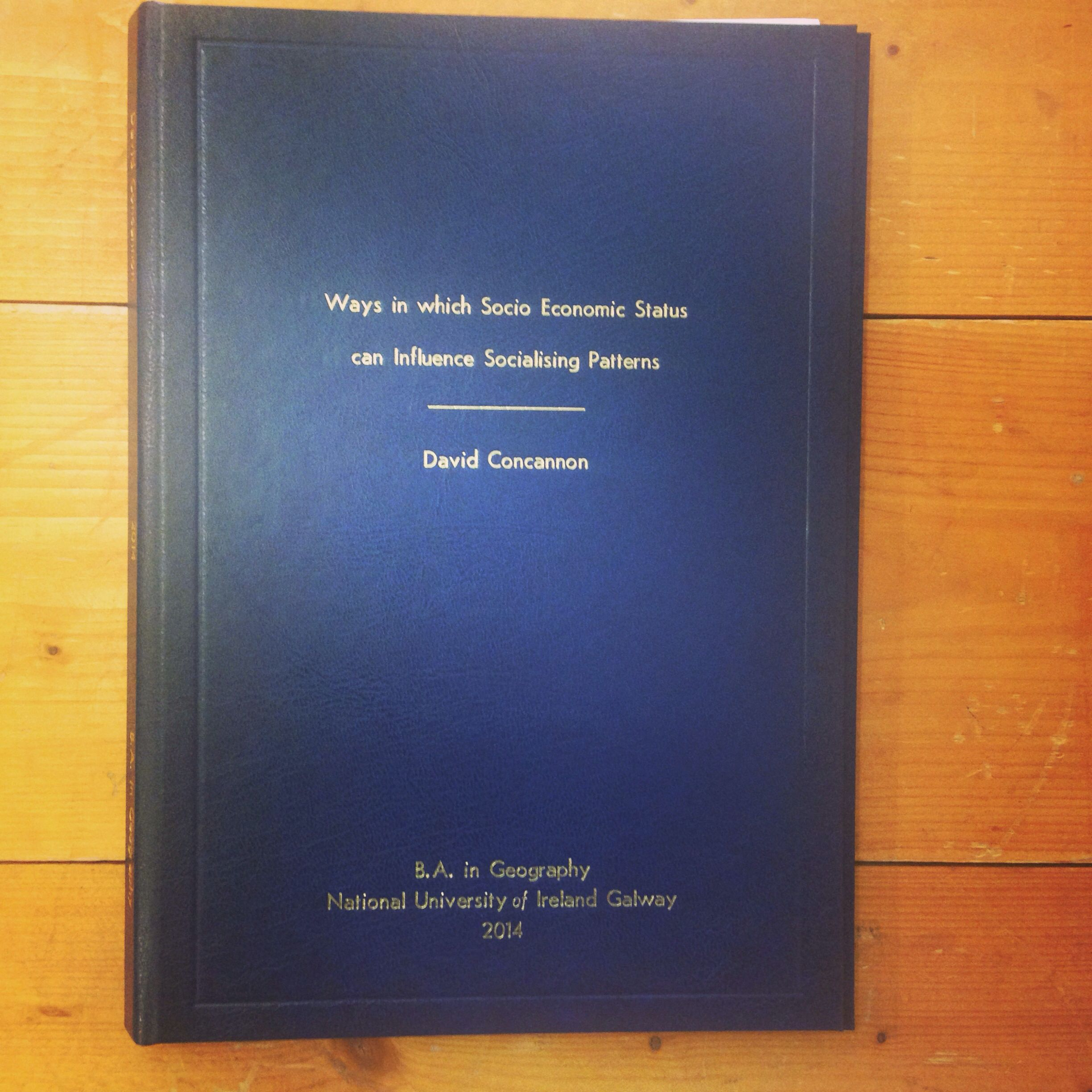 Phd thesis on population geography