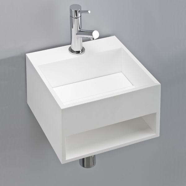 Des Dimensions Extemement Modestes 30x28 Cm Et Neanmoins Un Espace De Rangement Lave Mains En Res Interieur Salle De Bain Salle De Bain Salle De Toilette