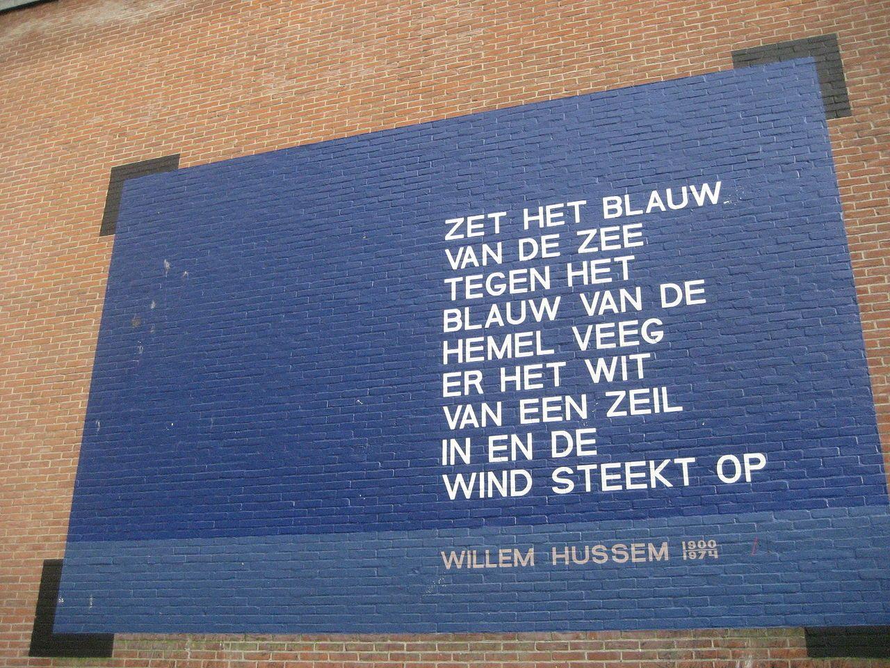 Hedendaags Willem Hussem - Wikipedia (met afbeeldingen)   Hemel, Gedichten TN-41