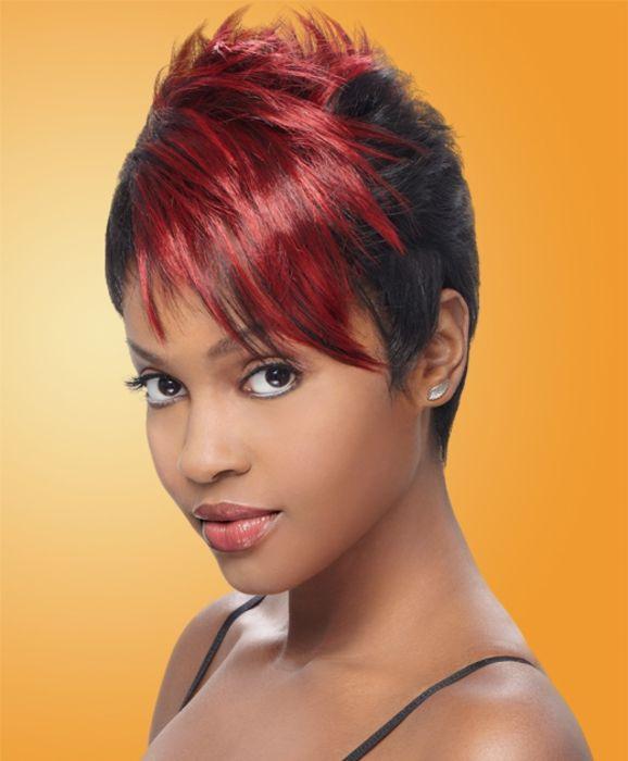 Pin On Short Wigs For Black Women