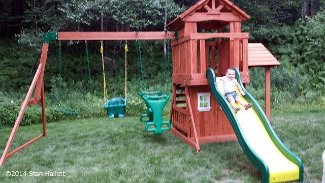 Backyard Discovery - Tanglewood - Backyard Discovery - Tanglewood Assembled Playsets Pinterest