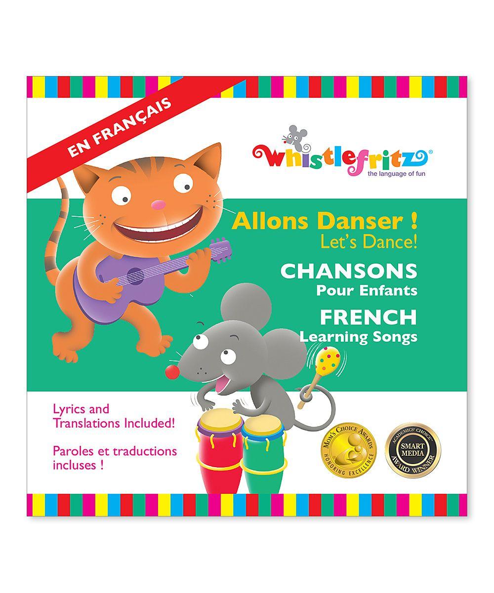 French Learning Songs: Allons Danser! (Let's Dance!) CD