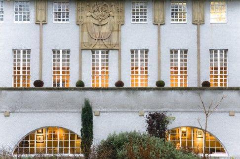 art nouveau windowscape house for an art lover by charles rennie