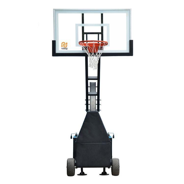This Portable Basketball Hoops Have 72 60 And 54 Clear Tempered Glass Backboard Heavy Dut Portable Basketball Hoop Basketball Backboard Basketball Systems