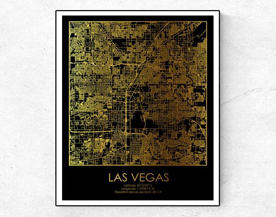 HD Decor Images » Las Vegas Map  Las Vegas Print  Las Vegas Poster  Nevada Print  USA     Las Vegas Map  Las Vegas Print  Las Vegas Poster  Nevada Print  USA Map  Print  Gold Map Print  Gold Map Decor  Gold Map Art  Map Wall Decor This is