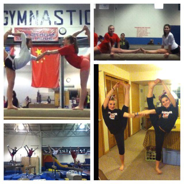 I love my gymnastics buddy :)