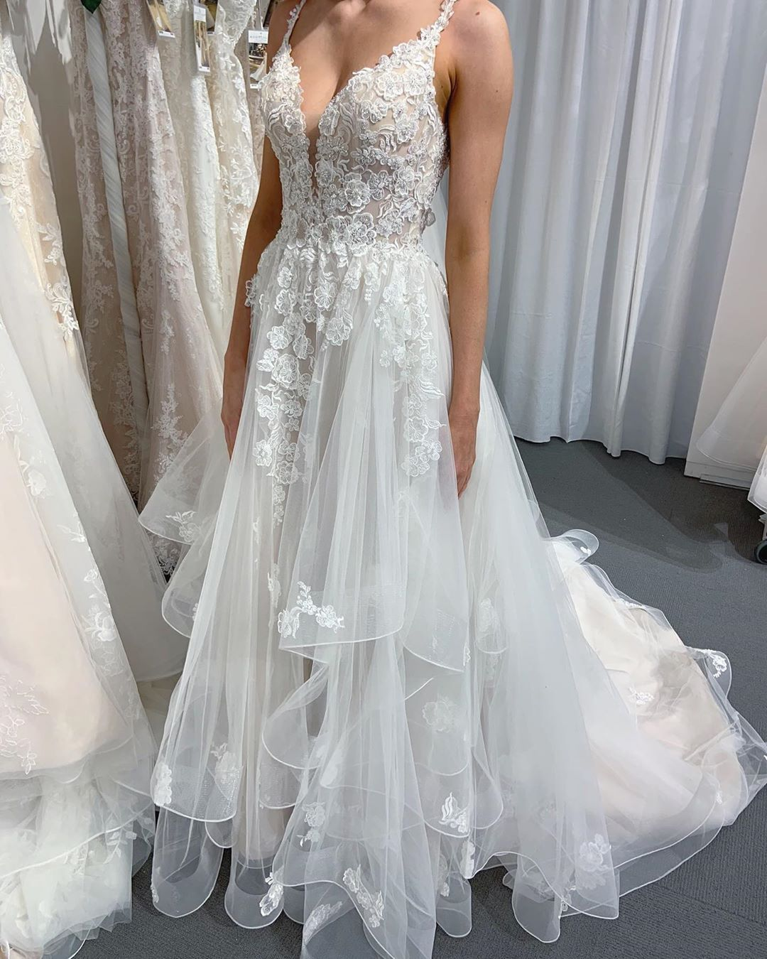 Moonlight Bridal Wedding Gowns On Instagram When We Say H1394 Is Our It Dress We Mean It This Stunner Moonlight Bridal Bridal Dresses Wedding Dresses [ 1350 x 1080 Pixel ]