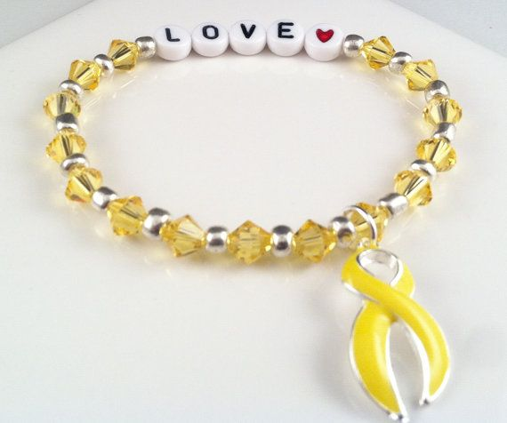 Suicide Prevention Suicide Awareness  Yellow by QuietMindDesigns, $16.00