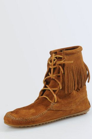 Tramper Ankle Hi Boots In Brown In 2021 Boots Moccasin Boots 1911 Leather Holster