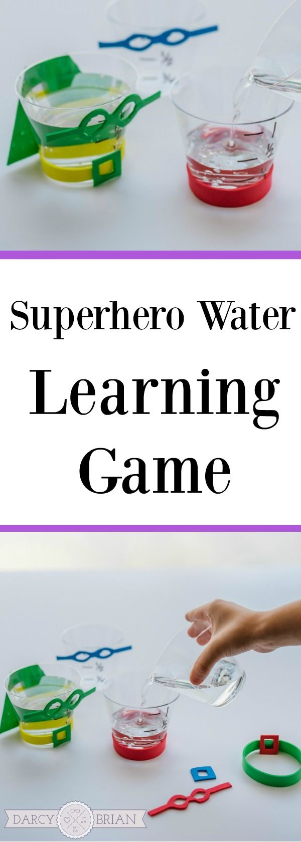 Superhero Water Learning Activity Activities For Kids