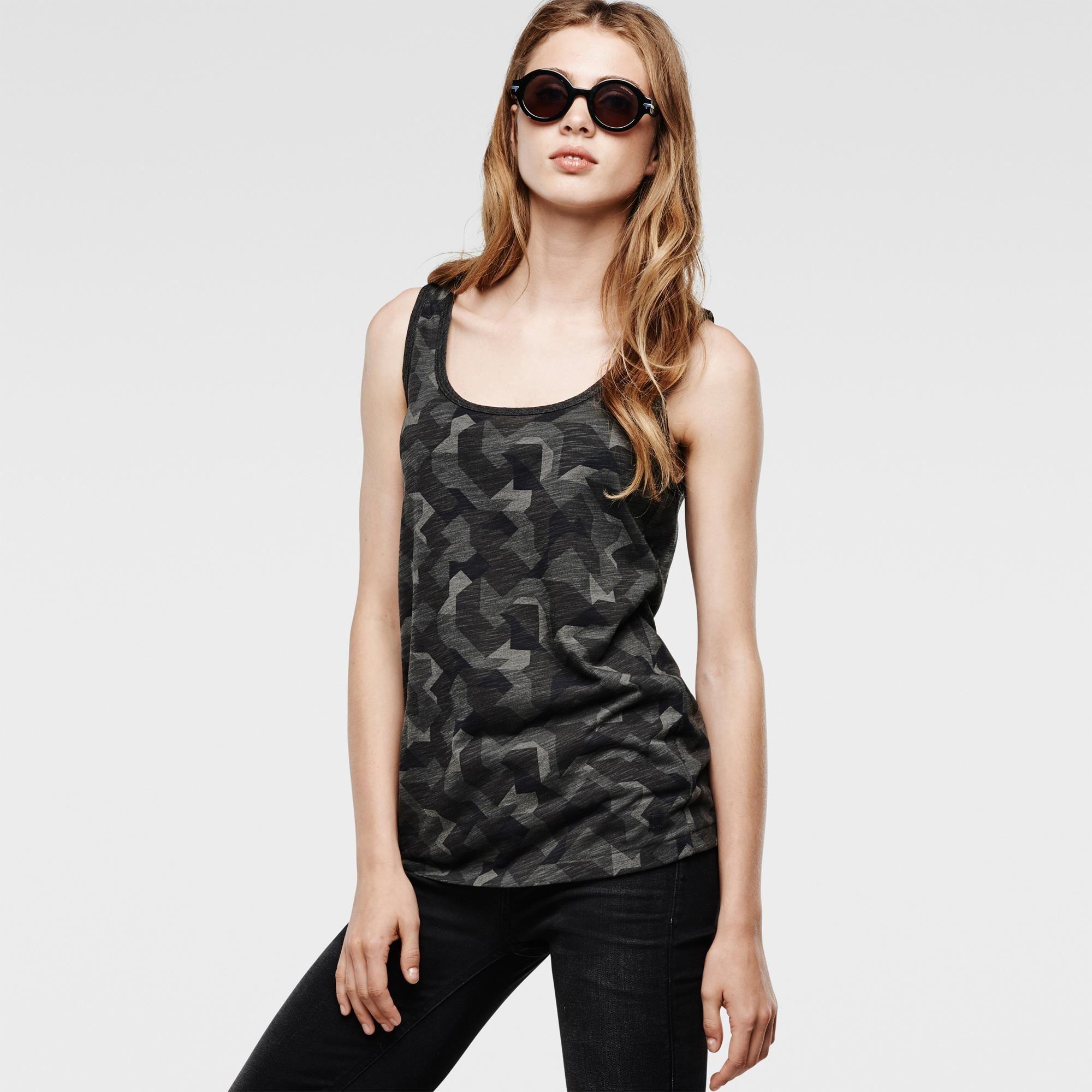 8574645a75d G-Star RAW | Women | T-shirts | Zonzi 3 Tanktop , Carbon