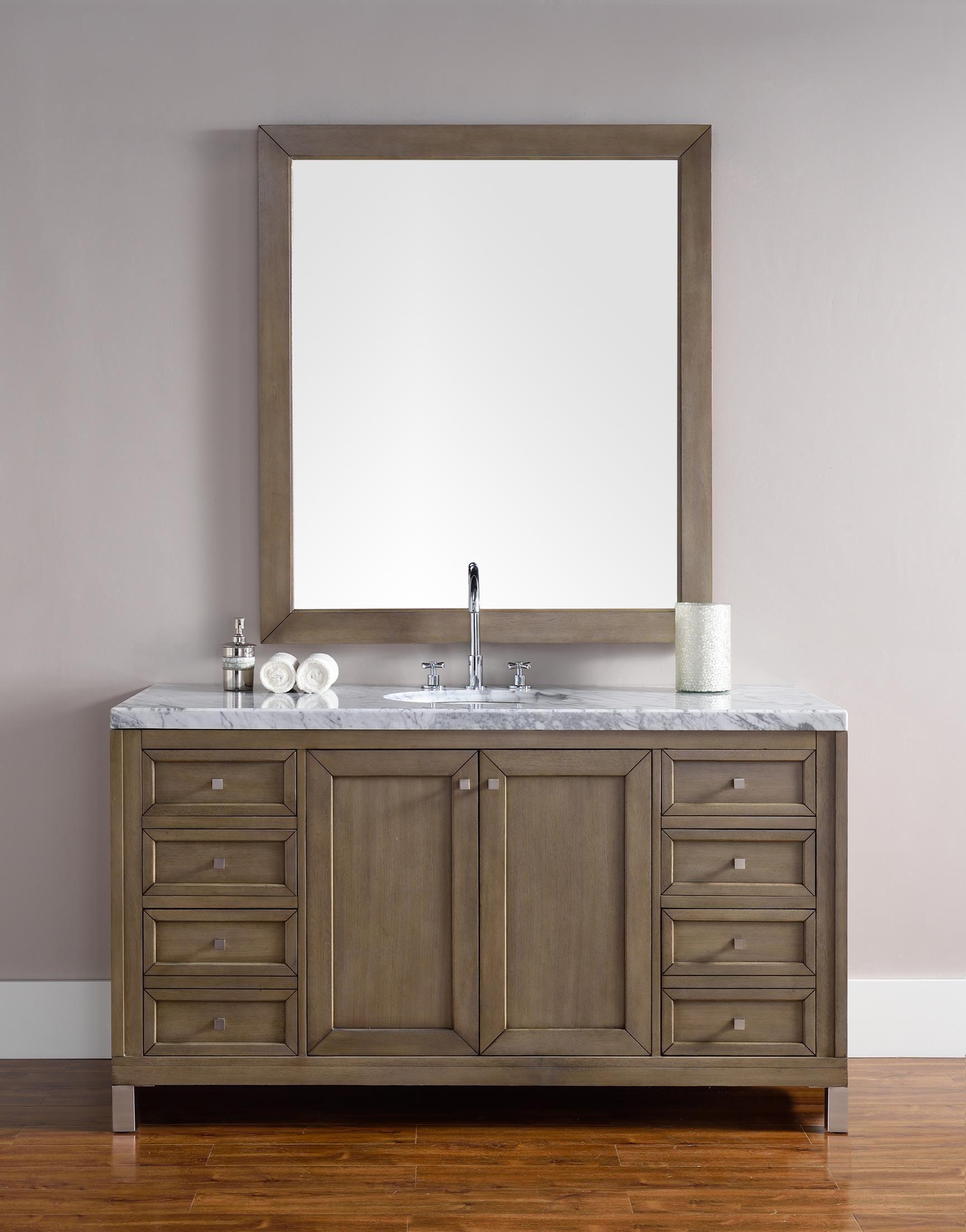 Chicago 60 Single Sink Bathroom Vanity Cabinet