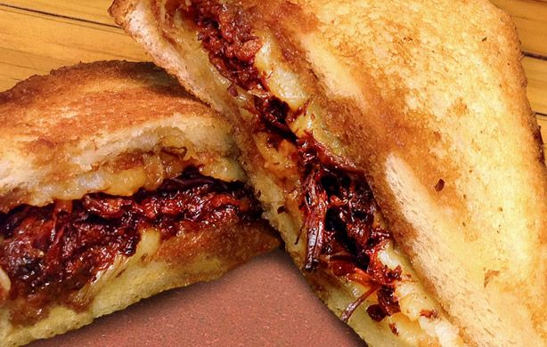 Ropa Vieja Grilled Cheese Recipe - Miami Grilled Cheese Sugarcane - Esquire