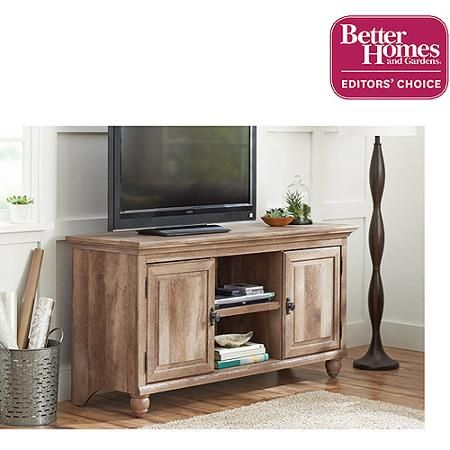 Better Homes and Gardens Crossmill Collection TV Stand for TVs up to
