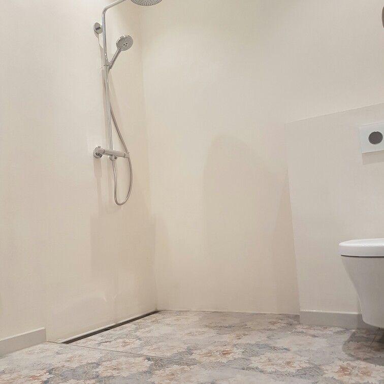 #Betonoptik#Spachteltechnik#Fliesen#White#Dusche#Shower#Mapiwork