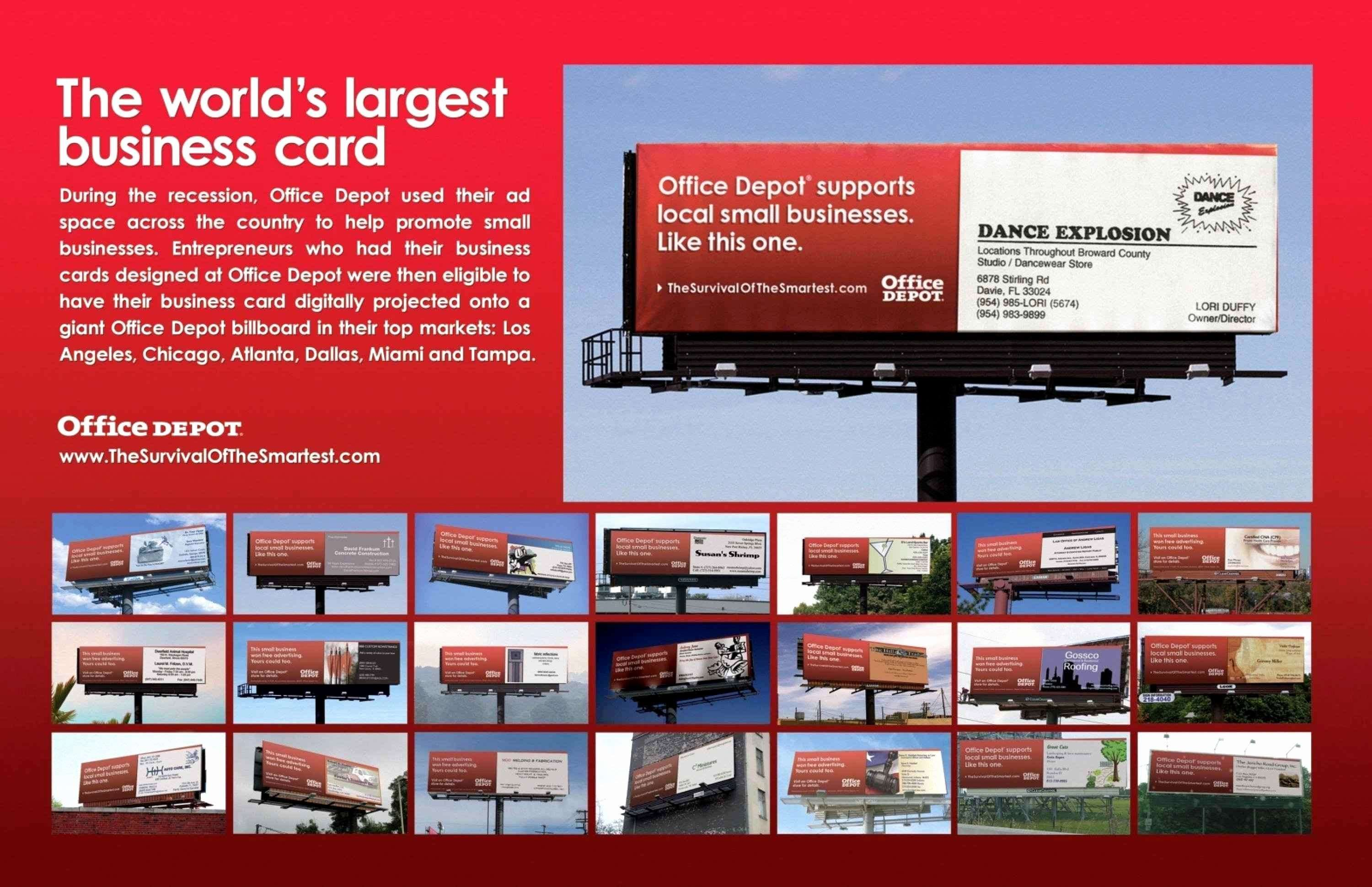 20 Office Depot Business Cards Template Full Size of fice