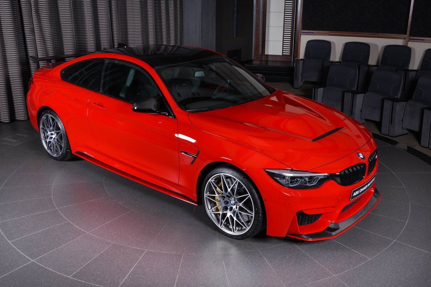 Ferrari Red Bmw M4 Is Delicious To Look At Carscoops Bmw M4 Bmw Bmw Red
