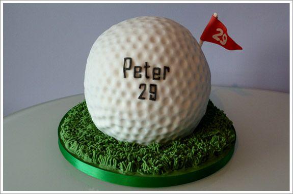 Ball shape for Caked Pinterest Golf ball cake Cake and Ball