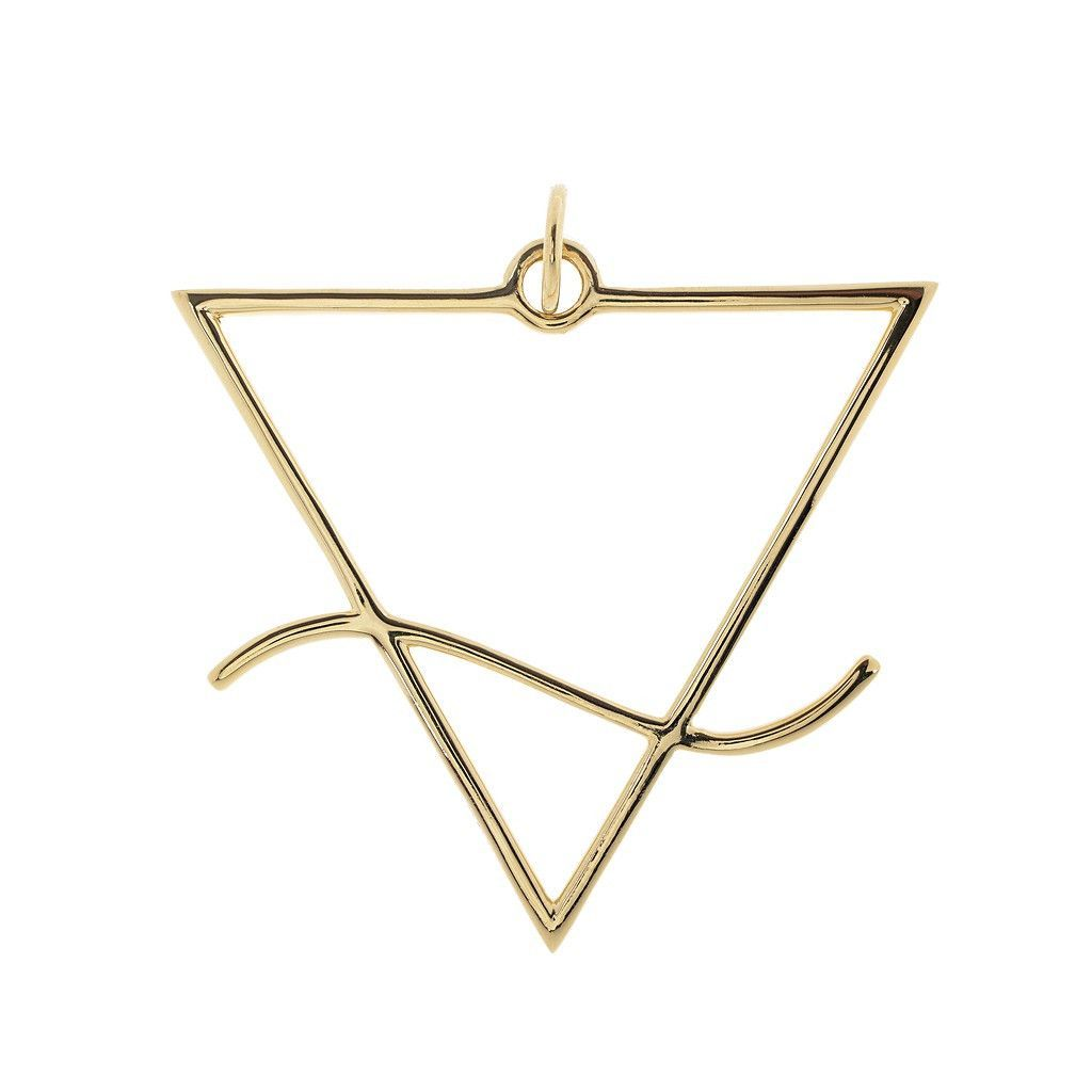 The Alchemicalmagical Symbol For Water Is An Inverted Triangle