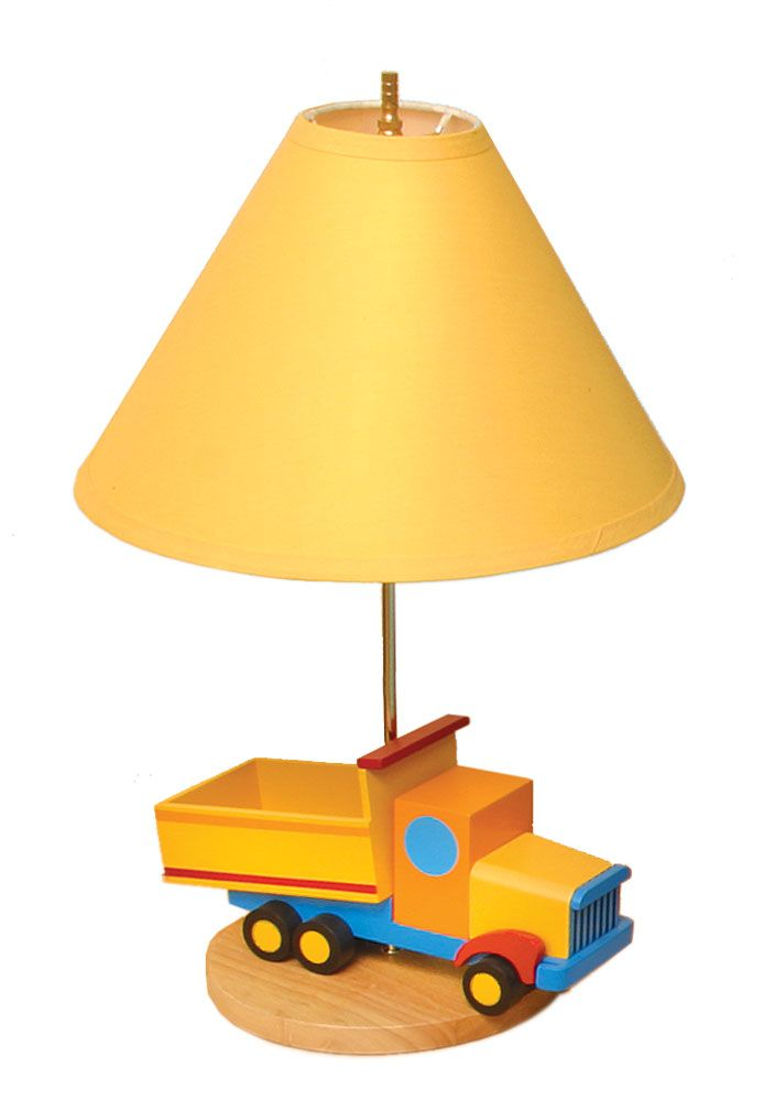 A miniature version of the real thing! This boys lamp will delight ...