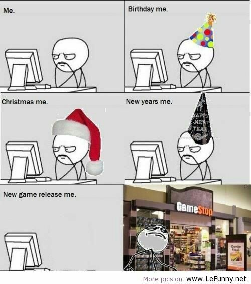 Pin By Murphy On Gaming Memes New Year Jokes Funny New Year News Games