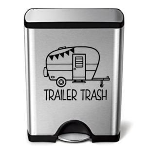 Trailer Trash Decal | Etsy