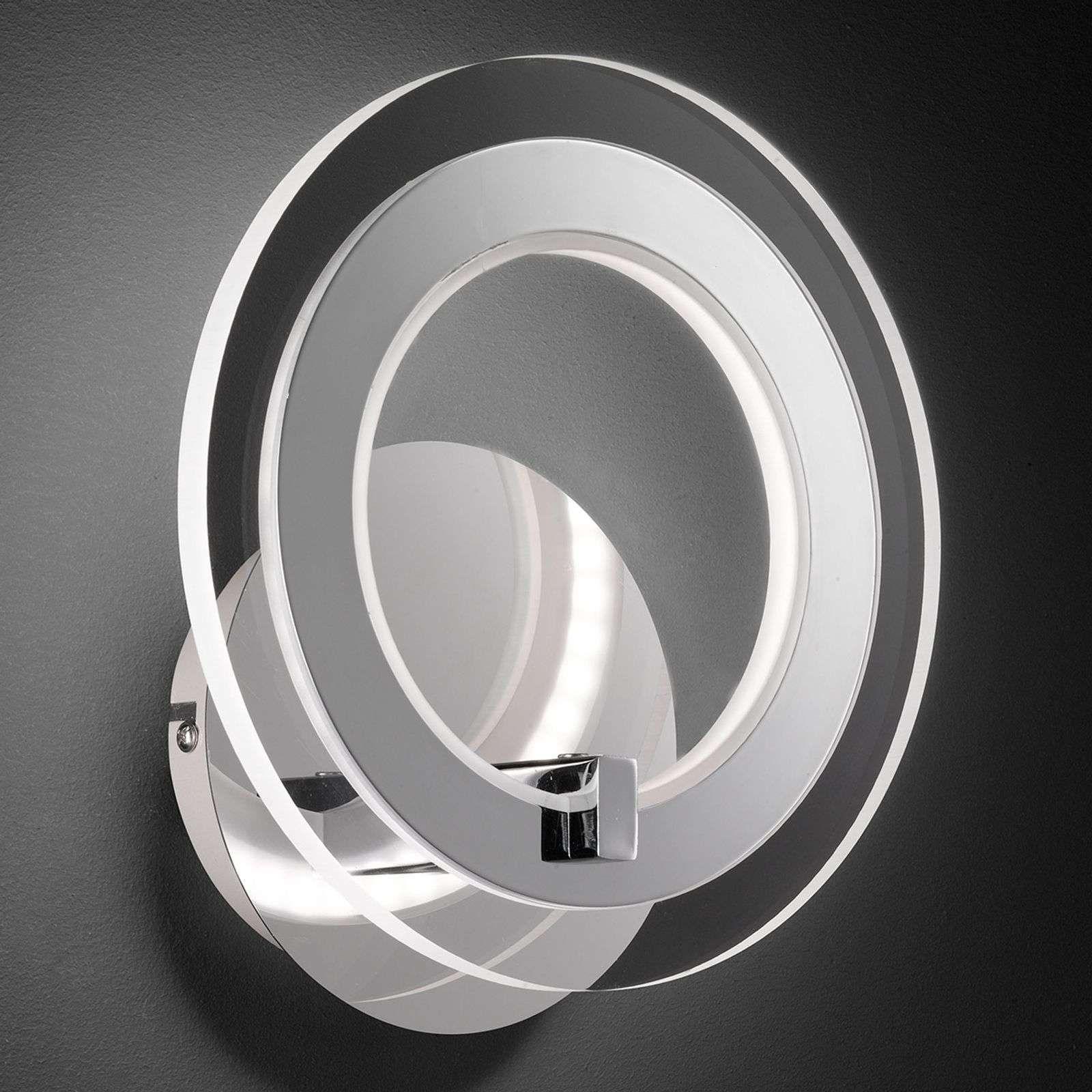 Applique Led Ronde Noemi In 2020 Wandlamp Led Moderne Lampen
