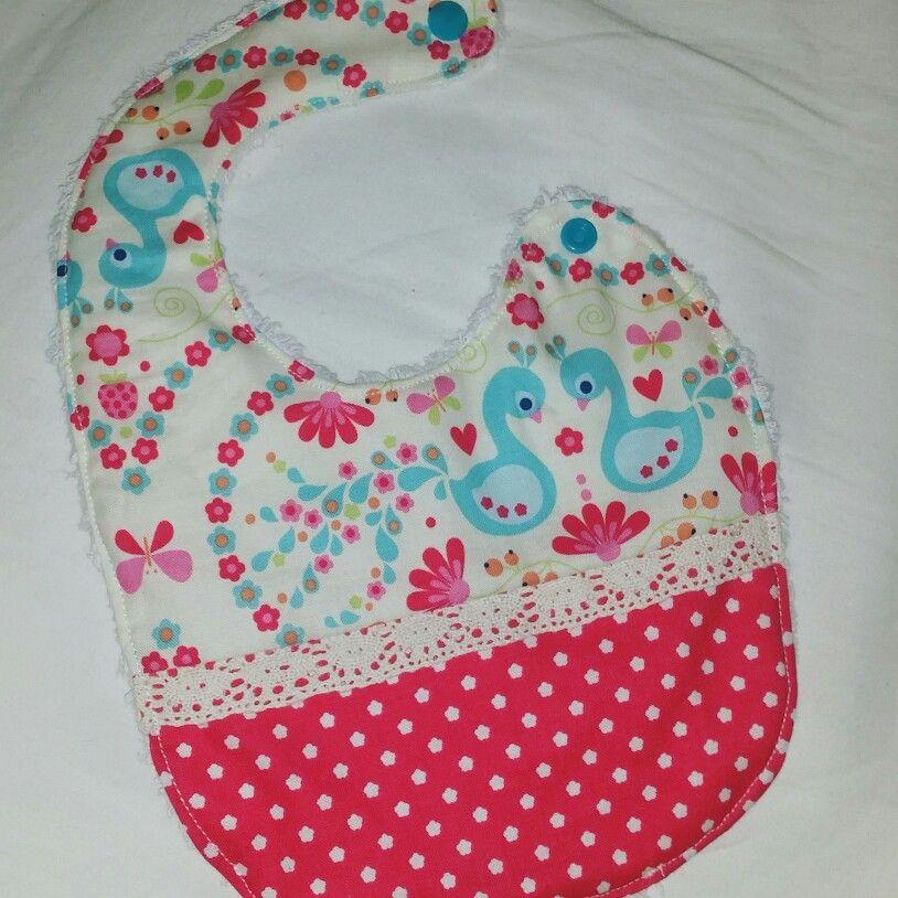 Babero de toalla0-3 meses