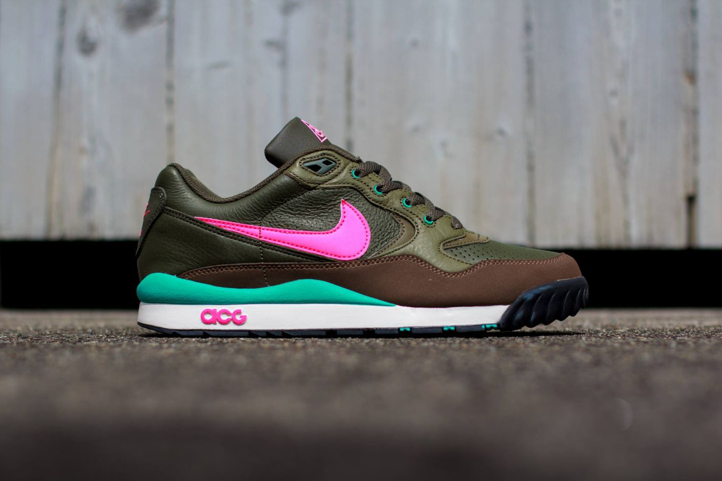 new style 527c3 2003f Image of Nike Air Wildwood LE KhakiPink-Olive