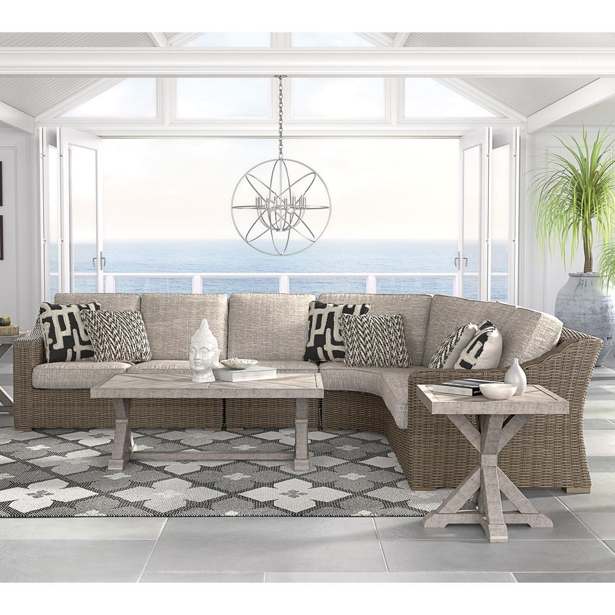 Product Main Image 0 | Outdoor seating set, Furniture ... on Beachcroft Beige Outdoor Living Room Set  id=78238