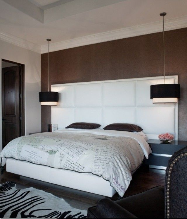 Headboard And Bedside Pendant Lights Bedroom Design Spec Building Group Ltd Toronto Contemporary Bedroom Contemporary Bedroom Design Modern Bedroom Design