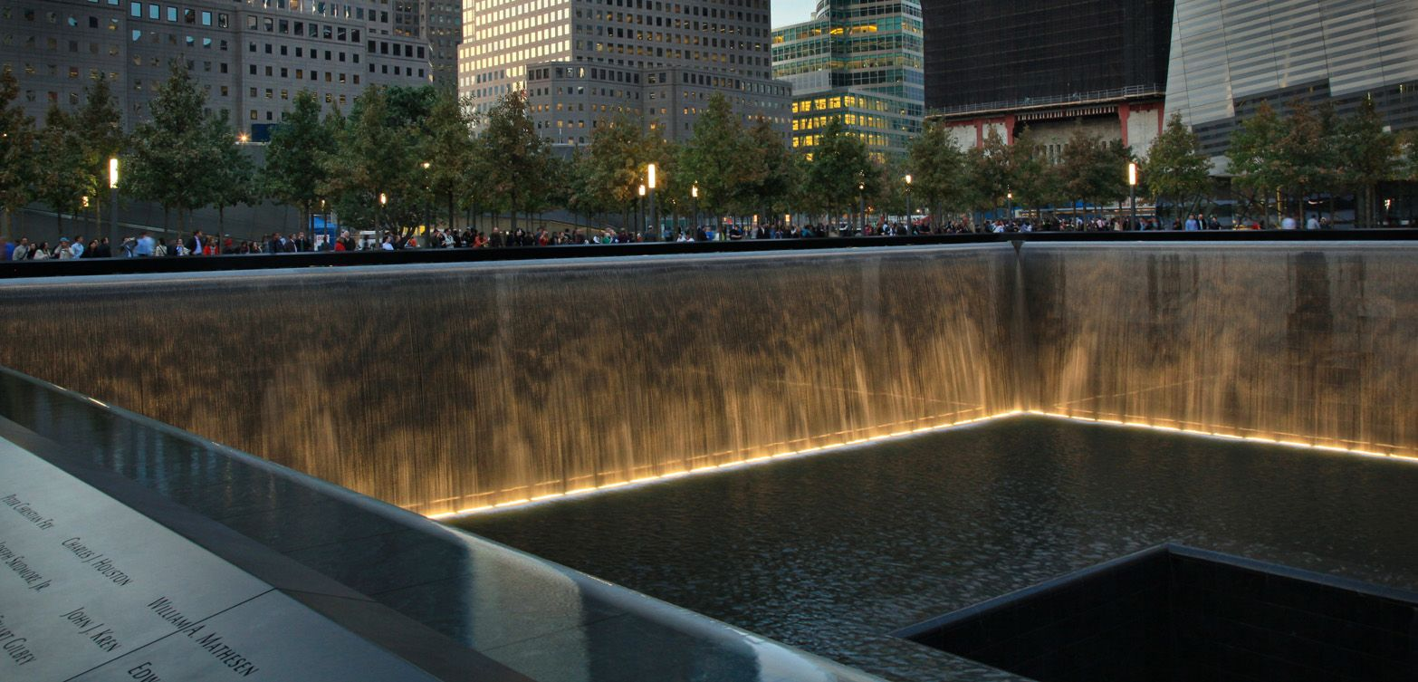 9 11 Memorial Michael Arad Peter Walker Landscape