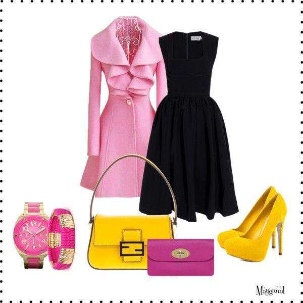 Little black bright dress