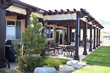 Ranch Homes With Pergolas   Google Search