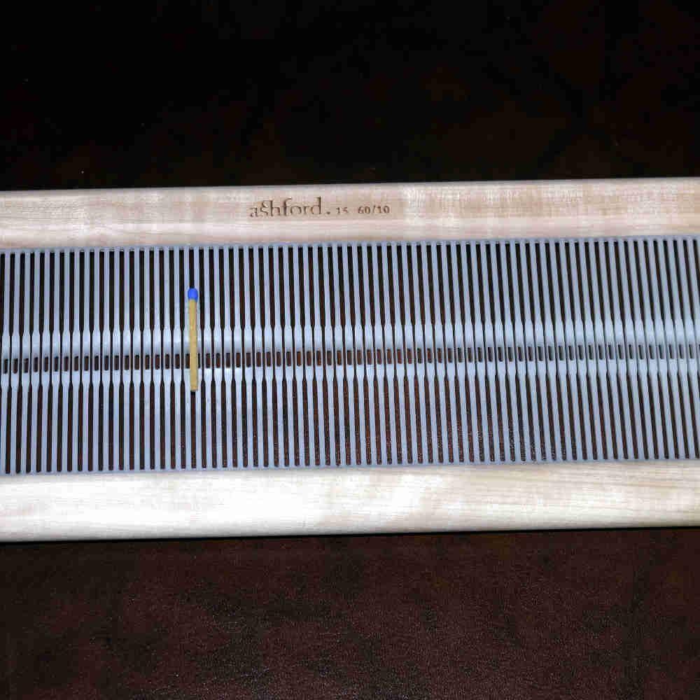 Ashford Webblatt 60/10 f. Rigid Heddle 40cm - Heikes Handgewebtes
