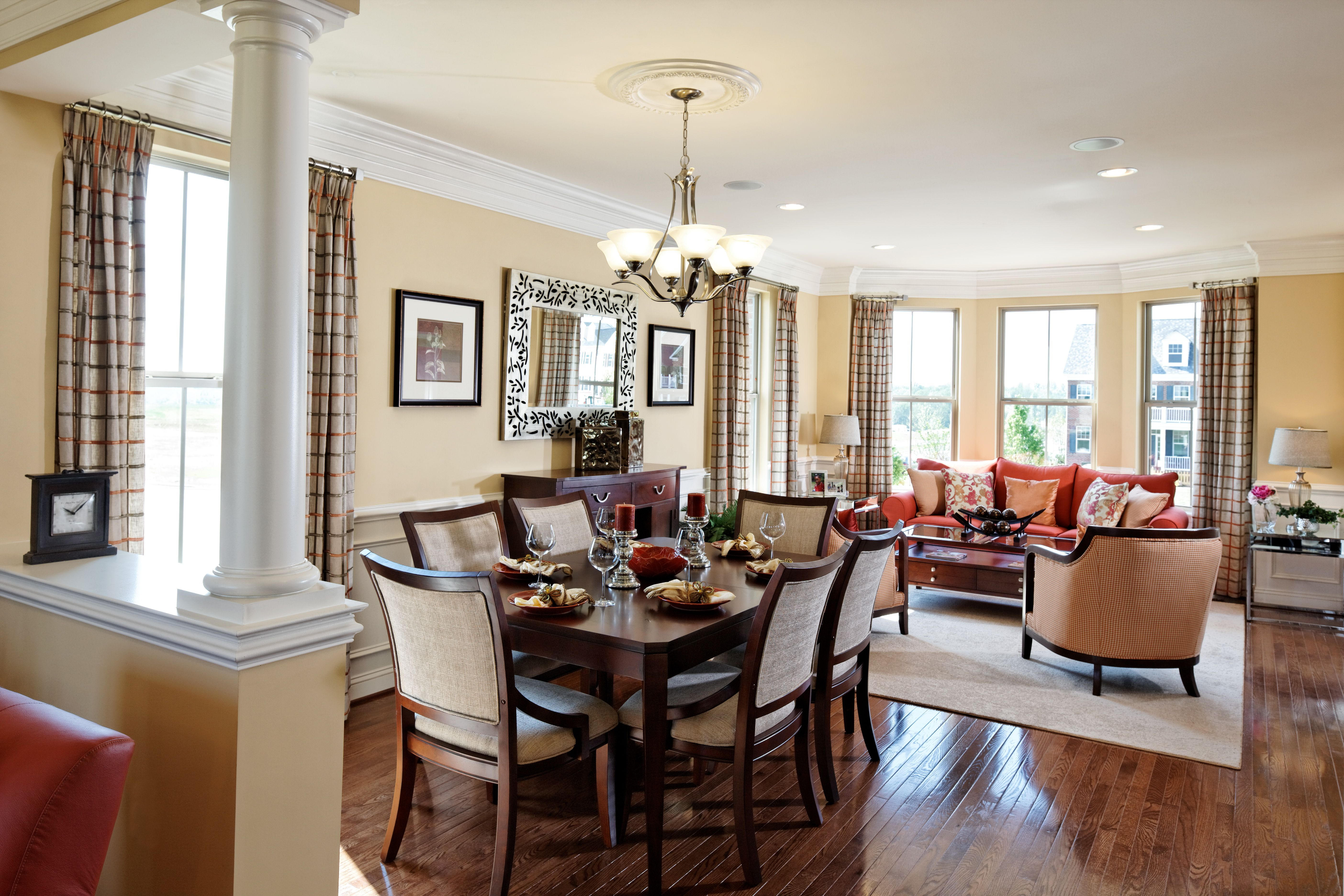 Pretty Dining Rooms What A Pretty Dining Room Httpwww.clarksburgvillage